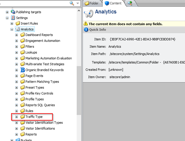 3. Analytics Settings