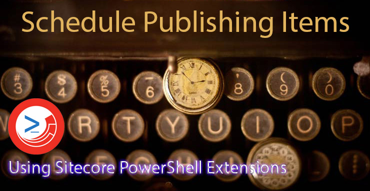 Schedule Publishing Items